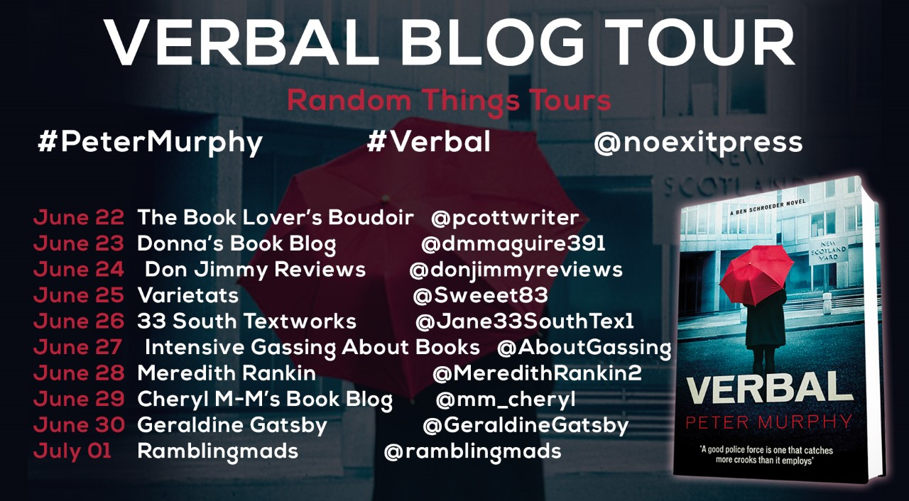 Poster for the Verbal Blog Tour