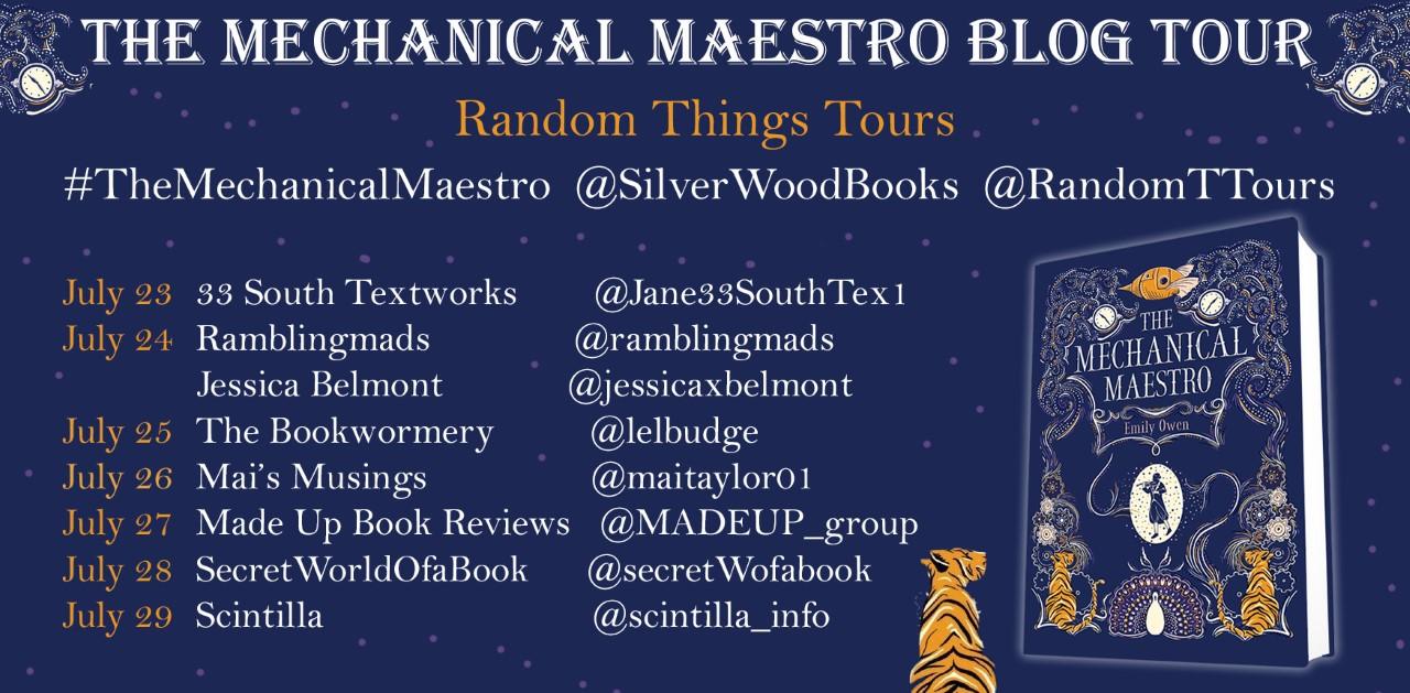 Mechanical Maestro Blog Tour