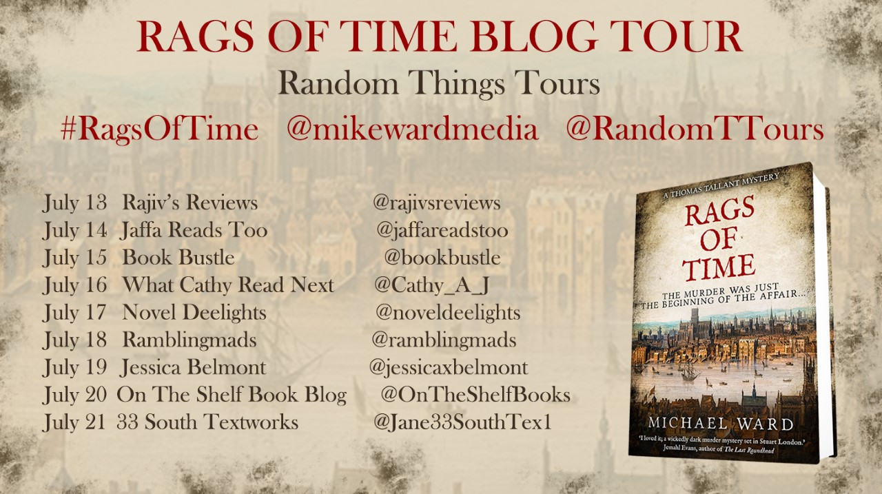 Rags of Time Blog Tour