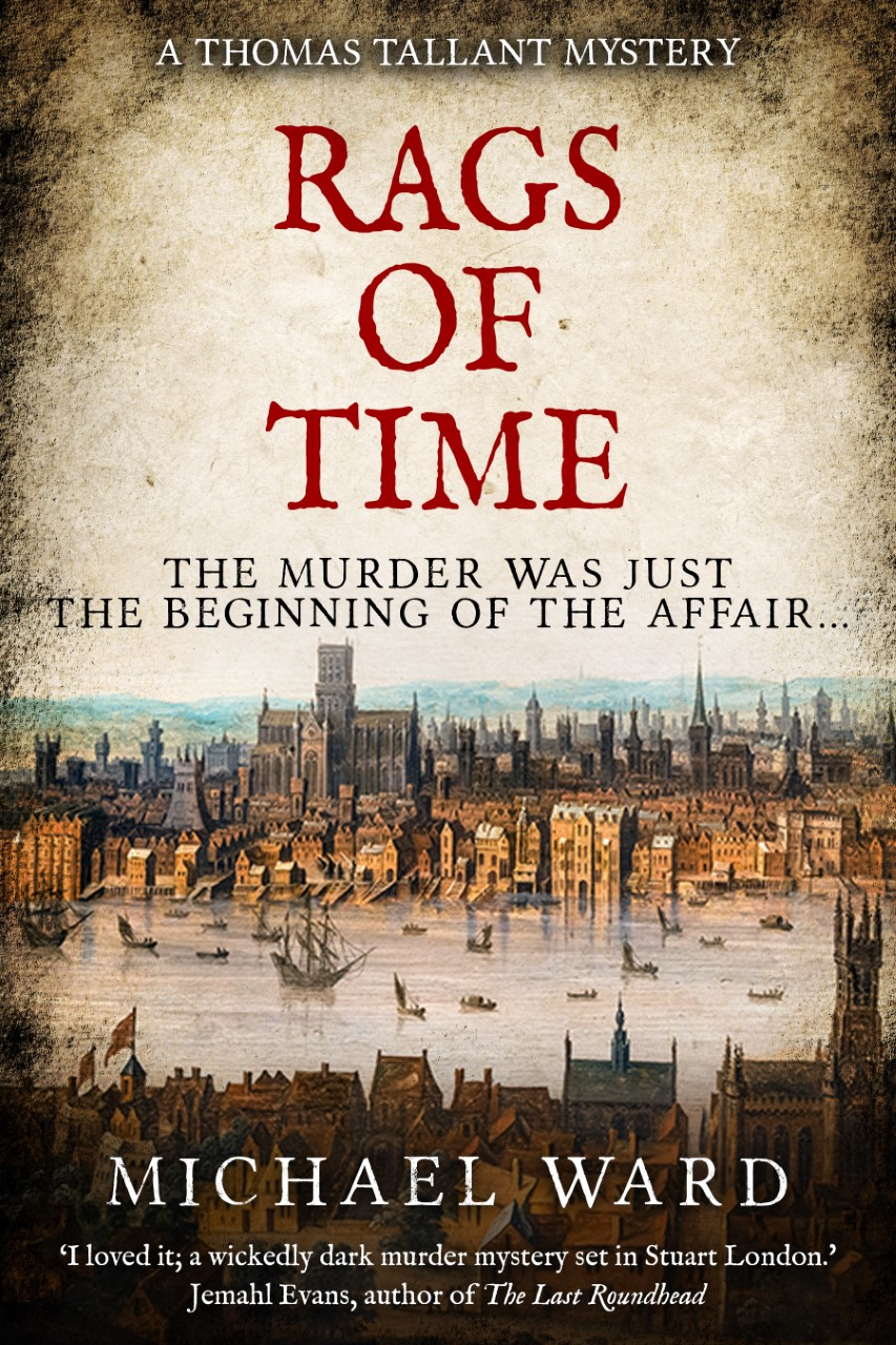 Cover Art for Rags of Time