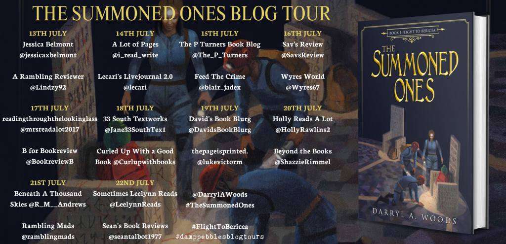 The Summoned Ones Blog Tour