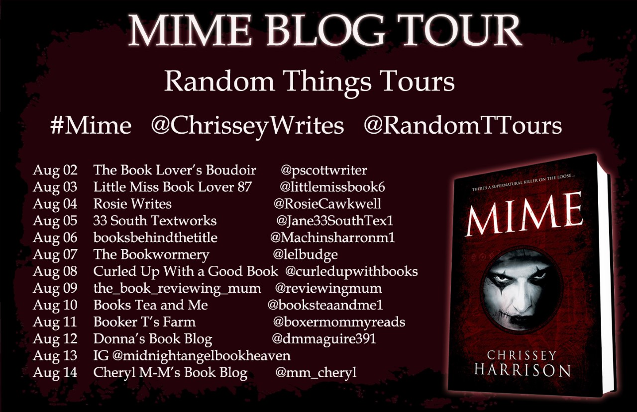Blog Tour stops for Mime