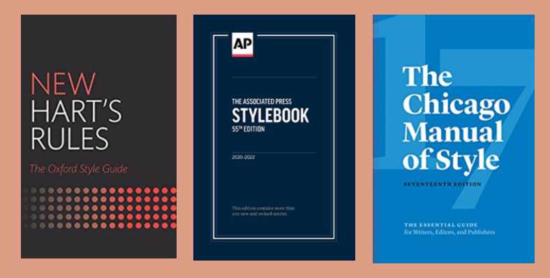 Cover Art for the most common Style Guides
