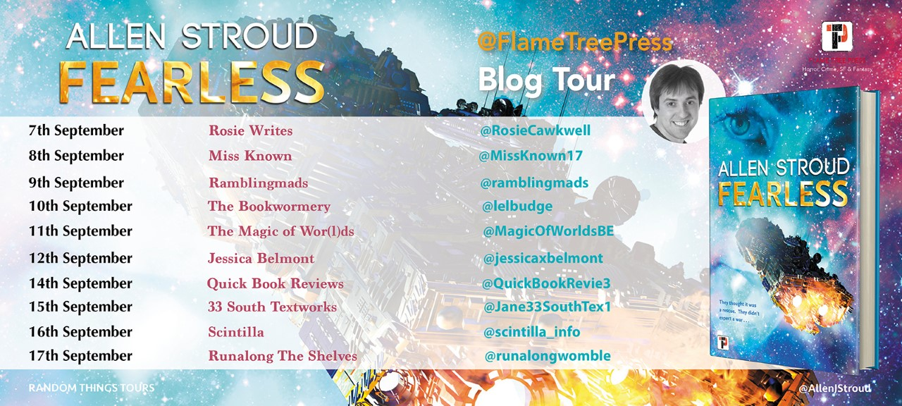 The Random Things Blog Tour stops for Fearless
