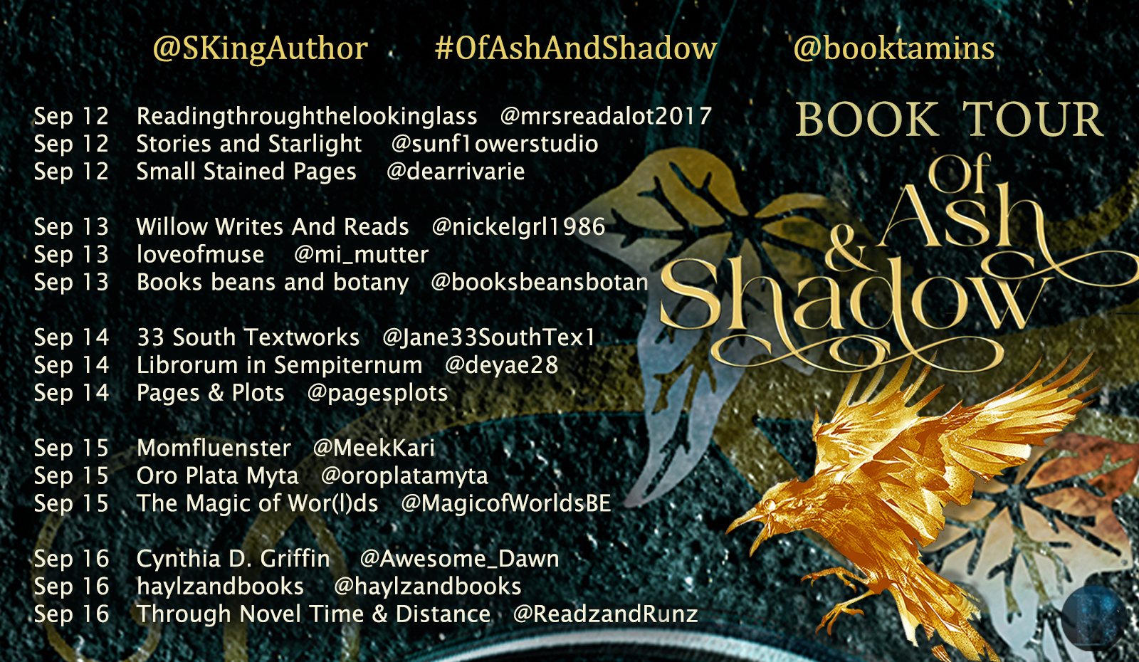 Of Ash & Shadow Blog Tour