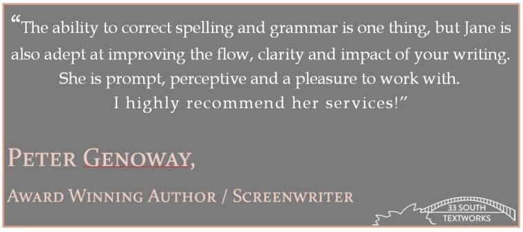 Peter Genoway, award winning author and screenwriter
