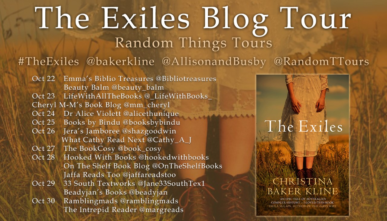The full Blog Tour for The Exiles