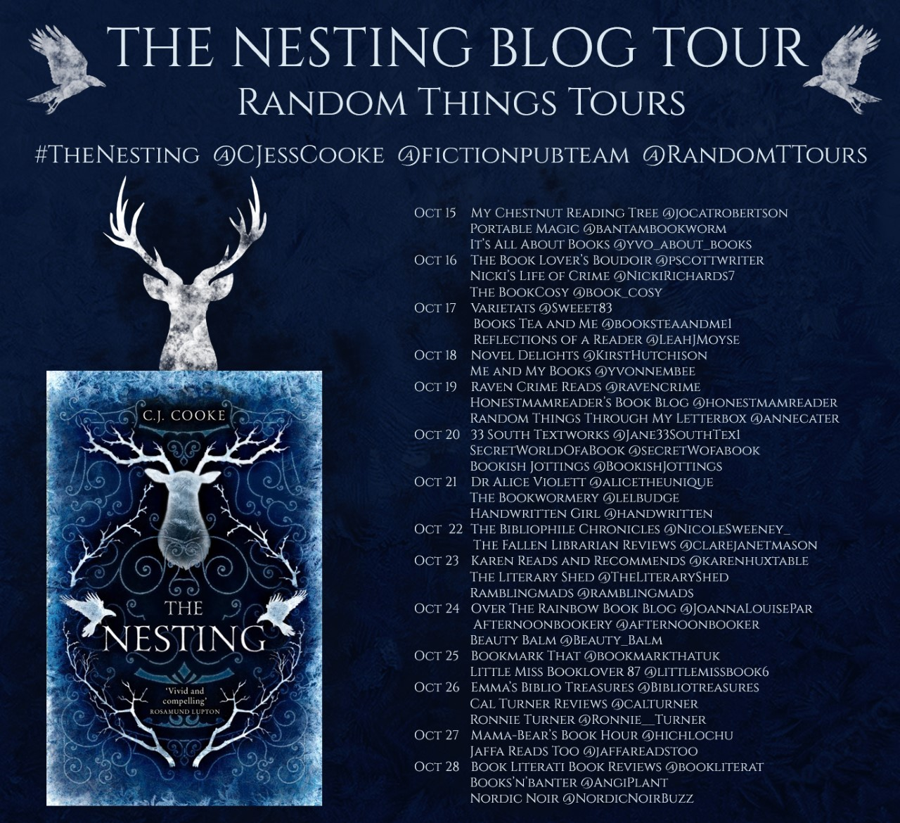 Blog Tour for The Nesting