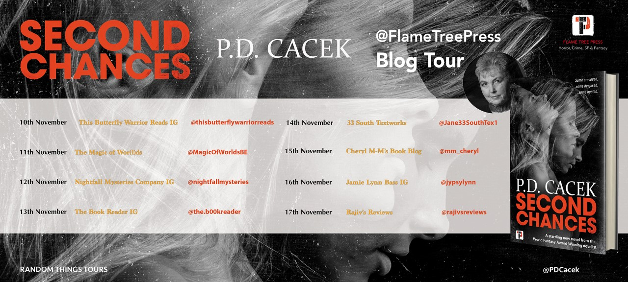 Second Chances Blog Tour Poster
