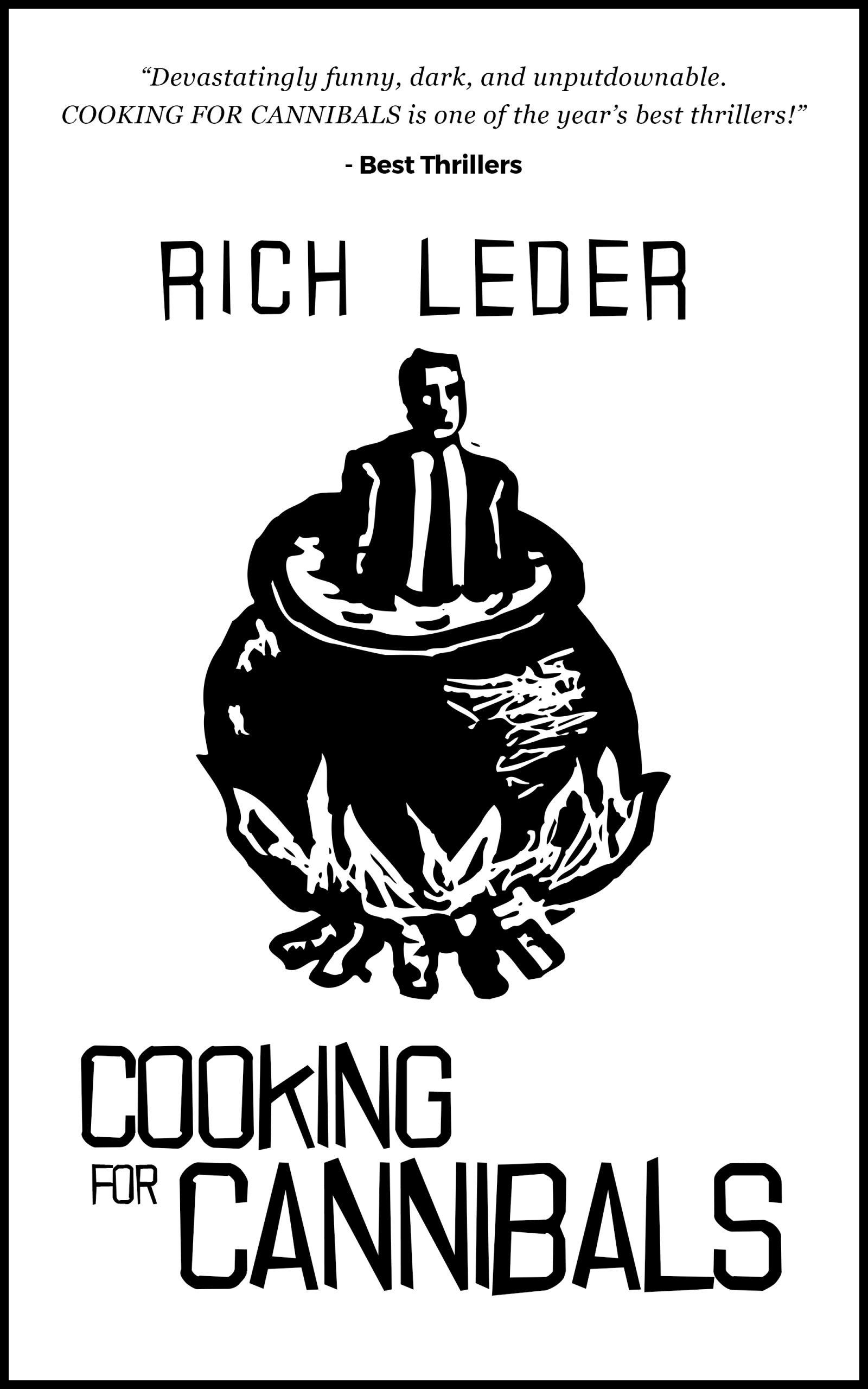 Cover Art fo Cooking for Cannibals
