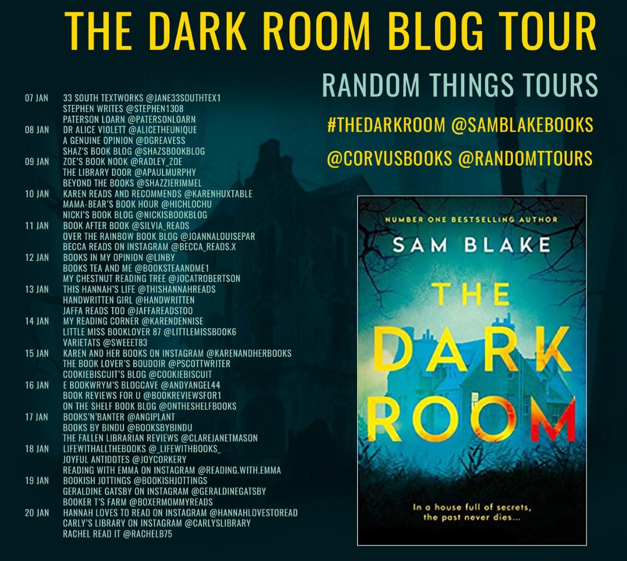 The Dark Room Blog Tour