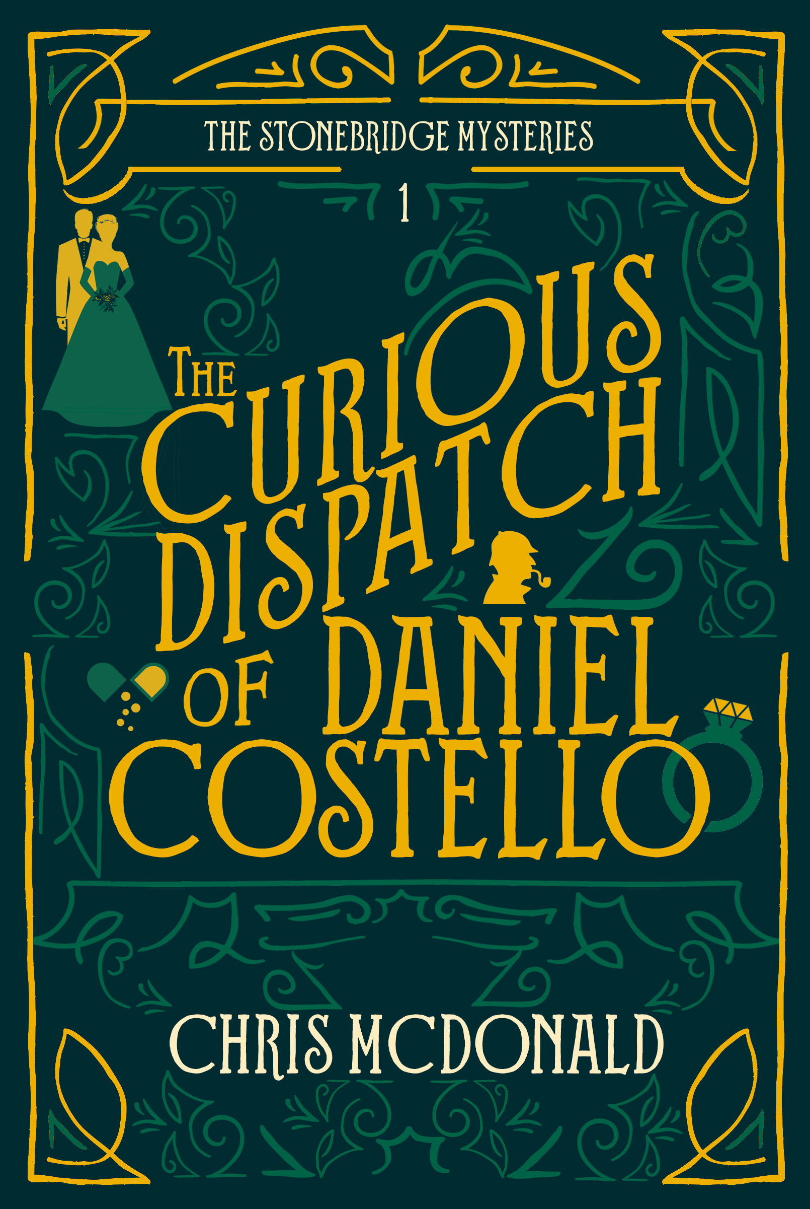 Cover Art for The Curious Dispatch of Daniel Costello