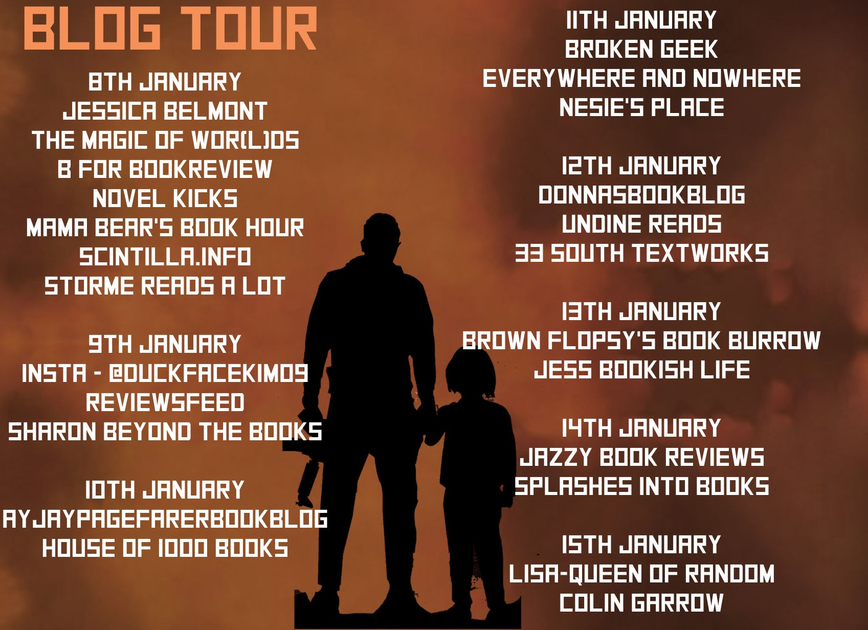 Stops on the Blog Tour