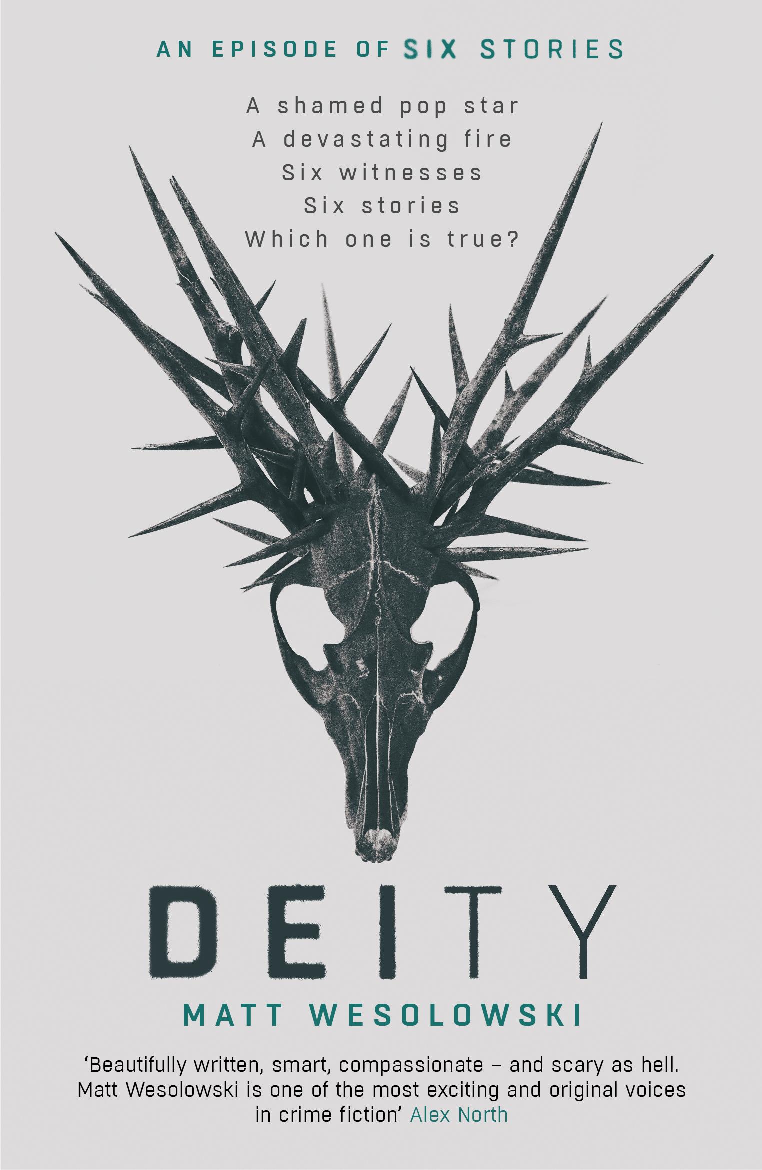 Cover Art for Deity