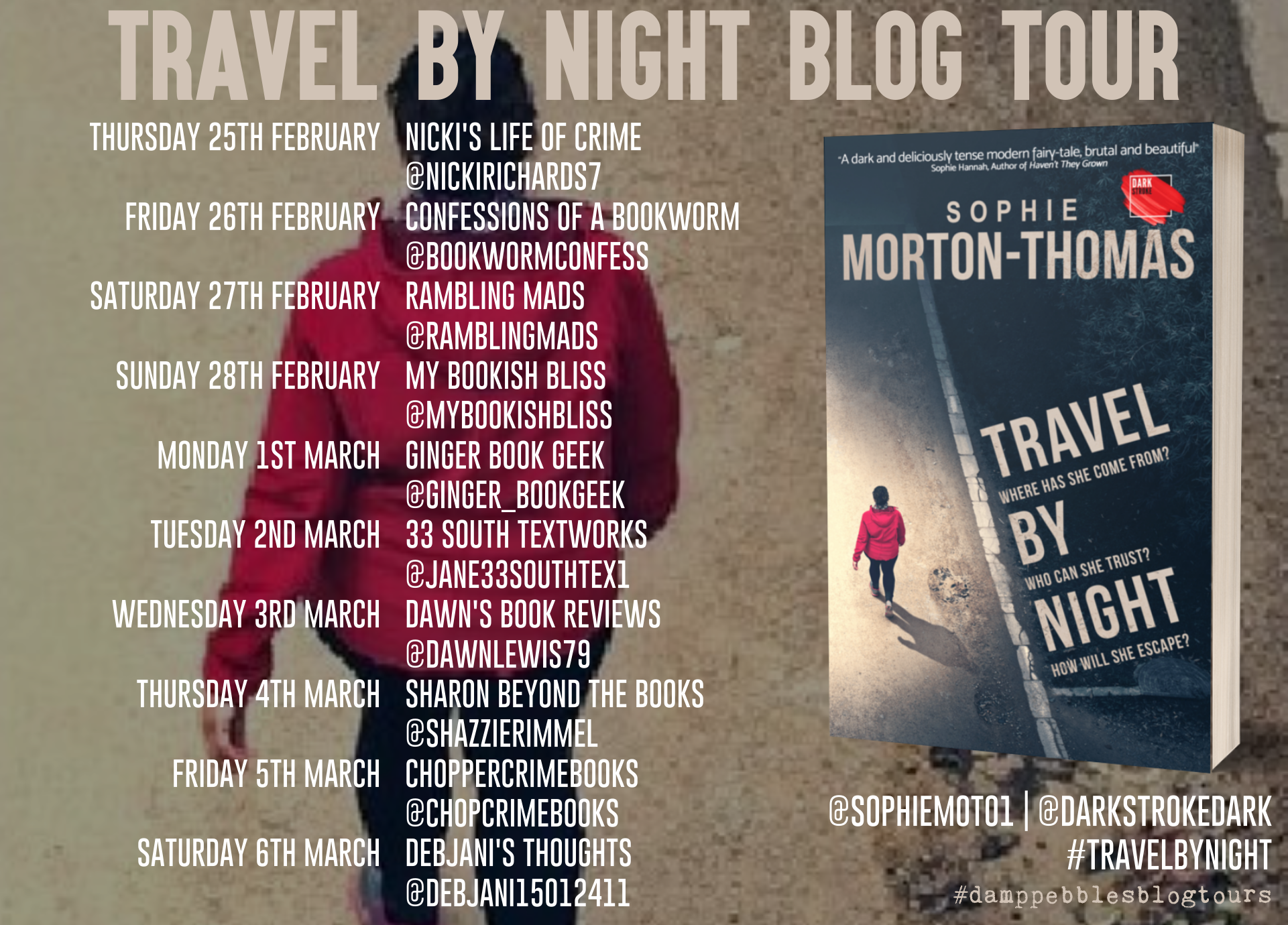 Travel By Night blog tour