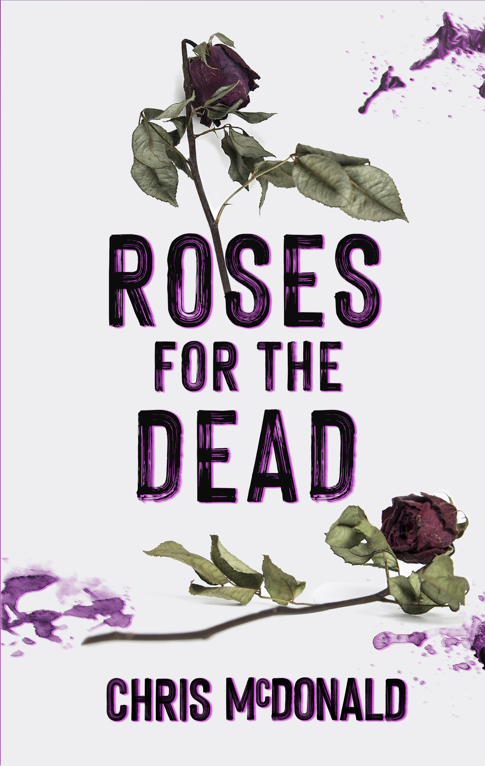 Cover art for Roses for the Dead