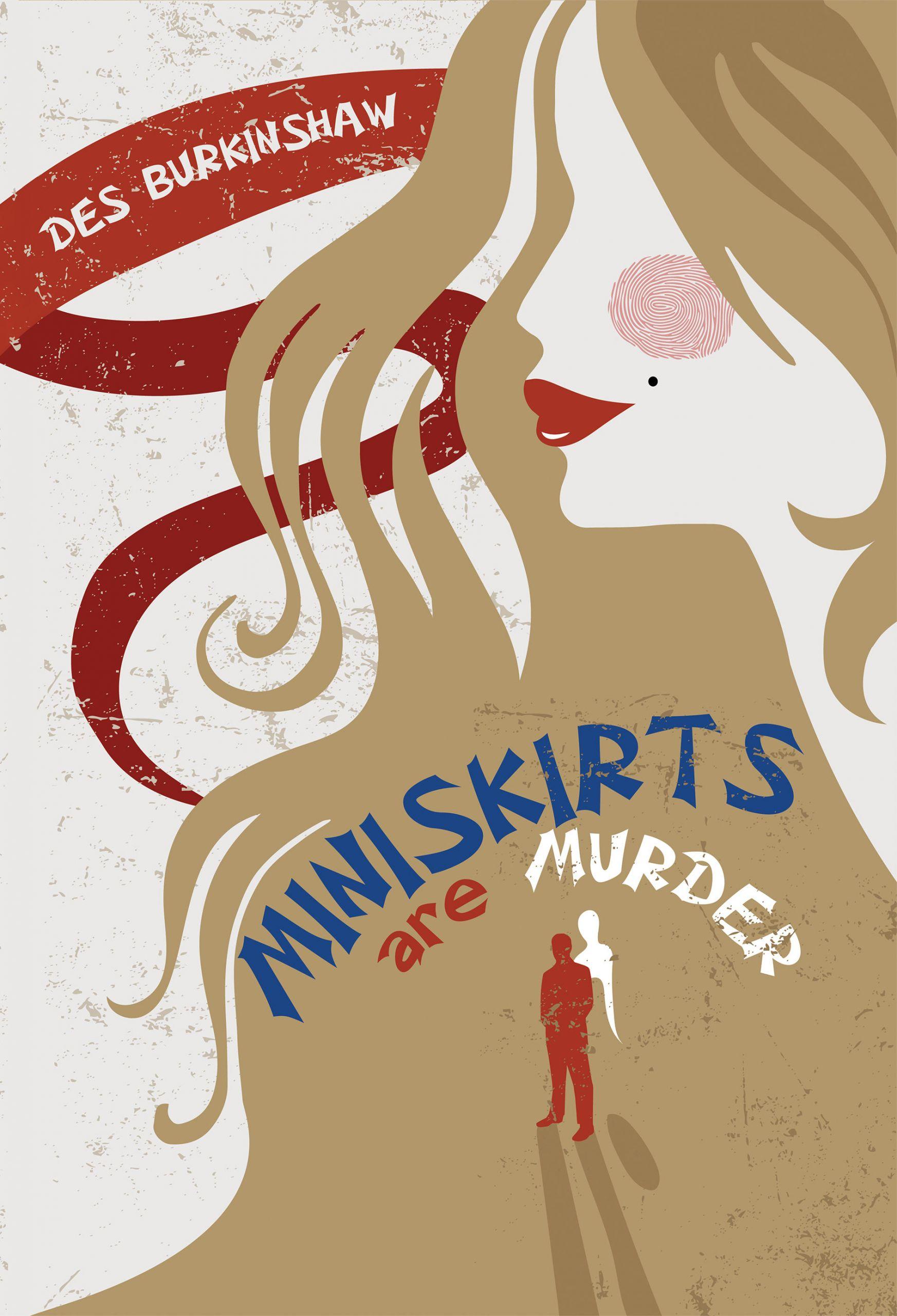 Cover Art for Miniskirts are Murder