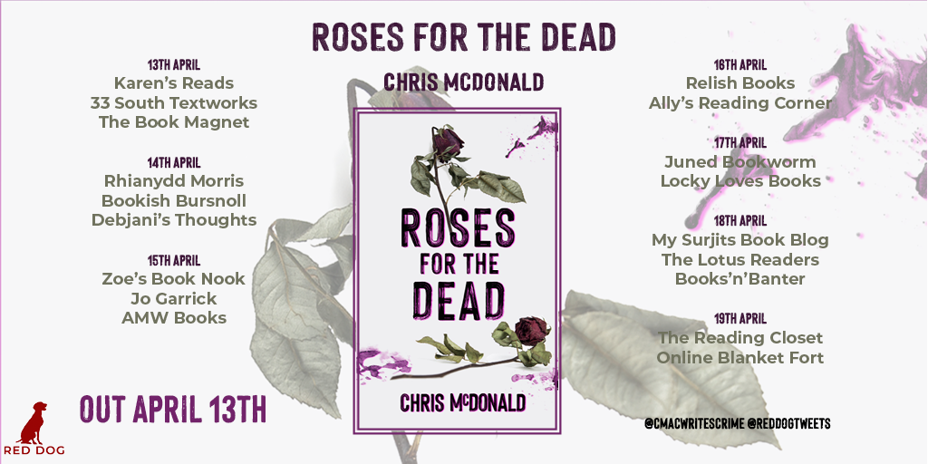 Roses for the Dead blog tour
