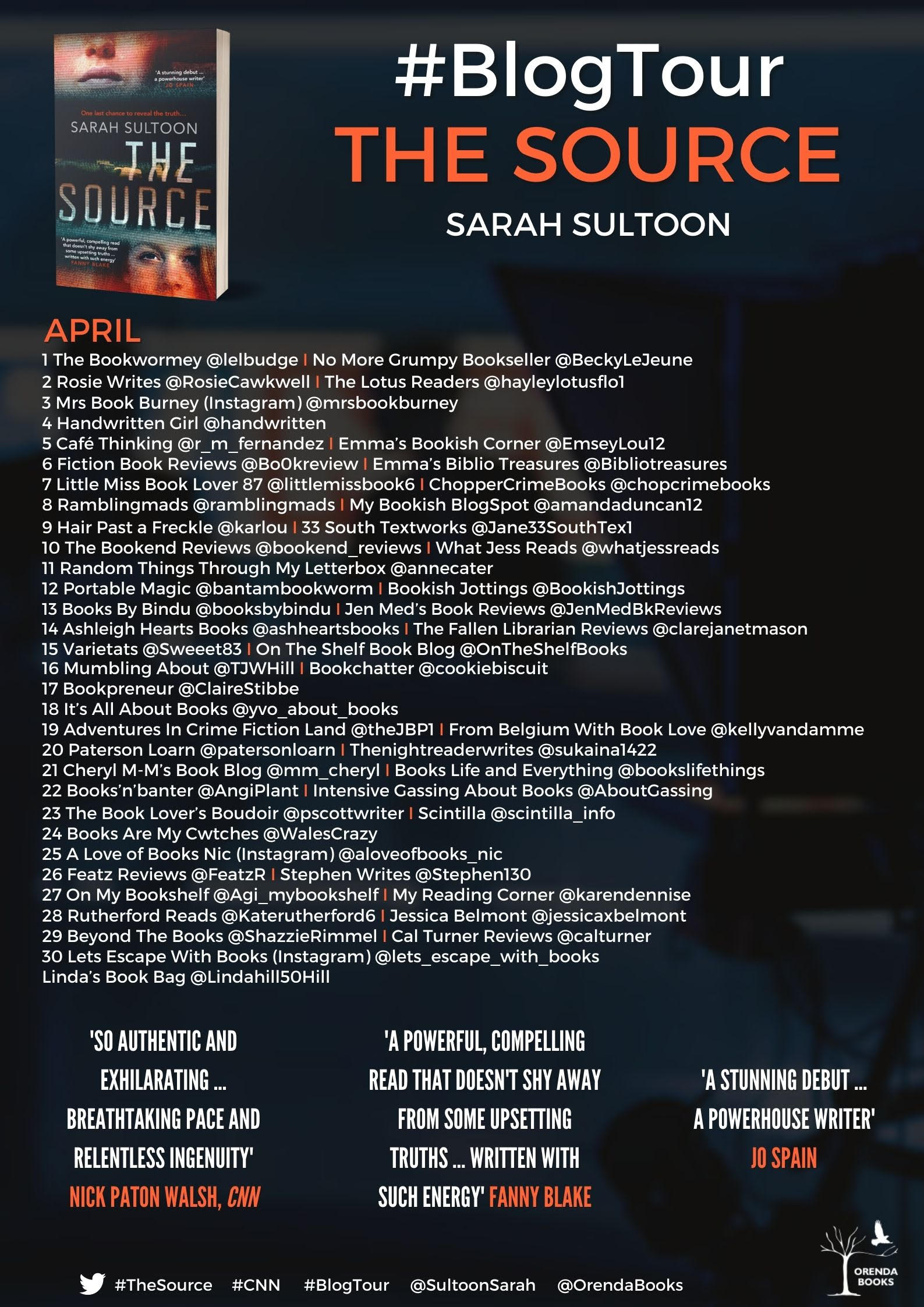 Blog Tour for The Source