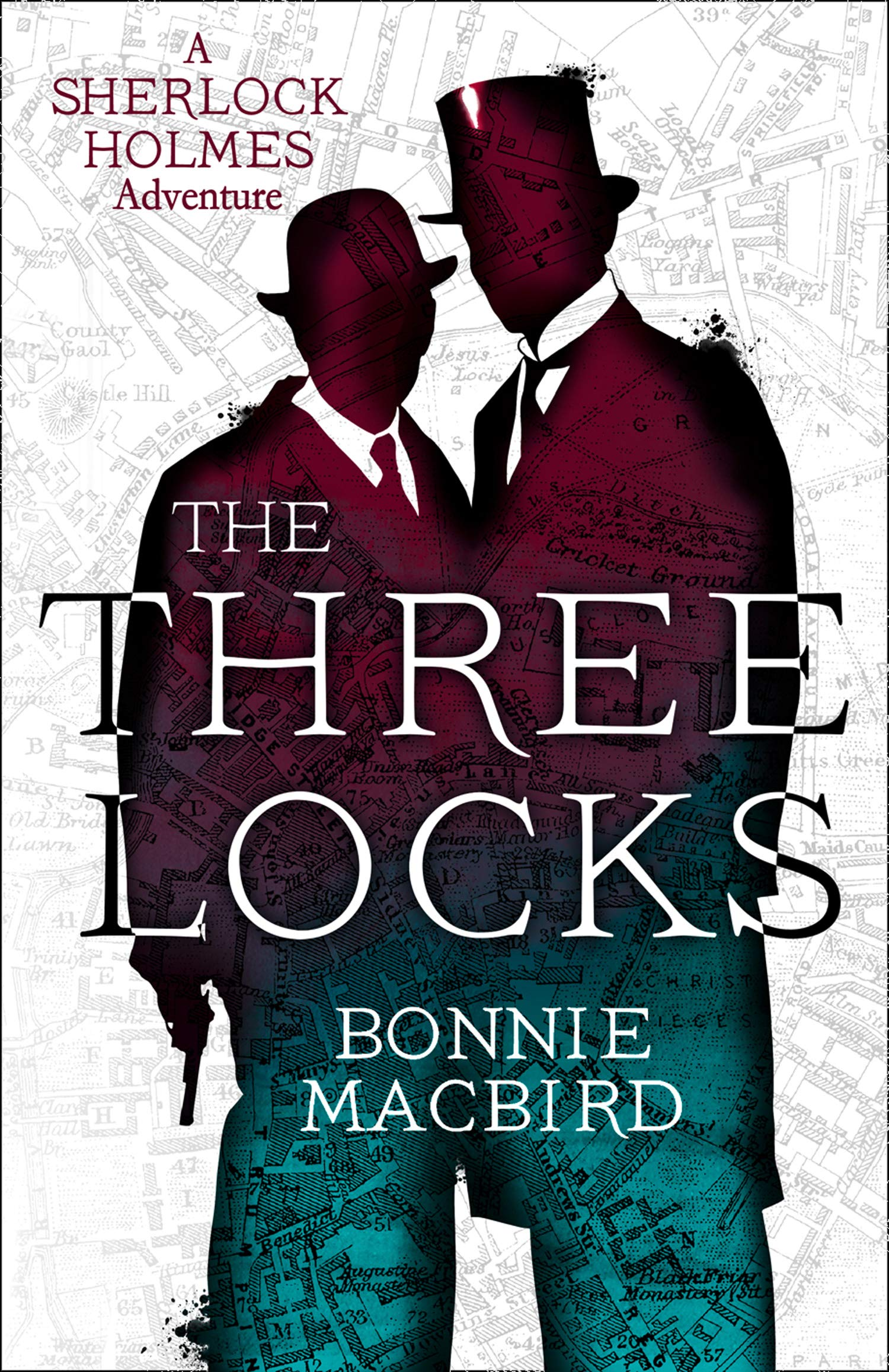 Cover Art for The Three Locks