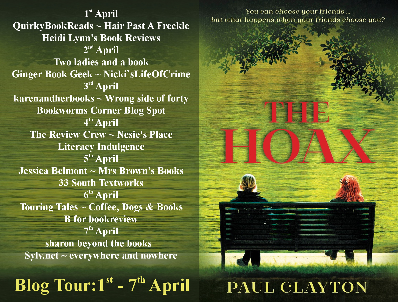 Blog Tour for The Hoax