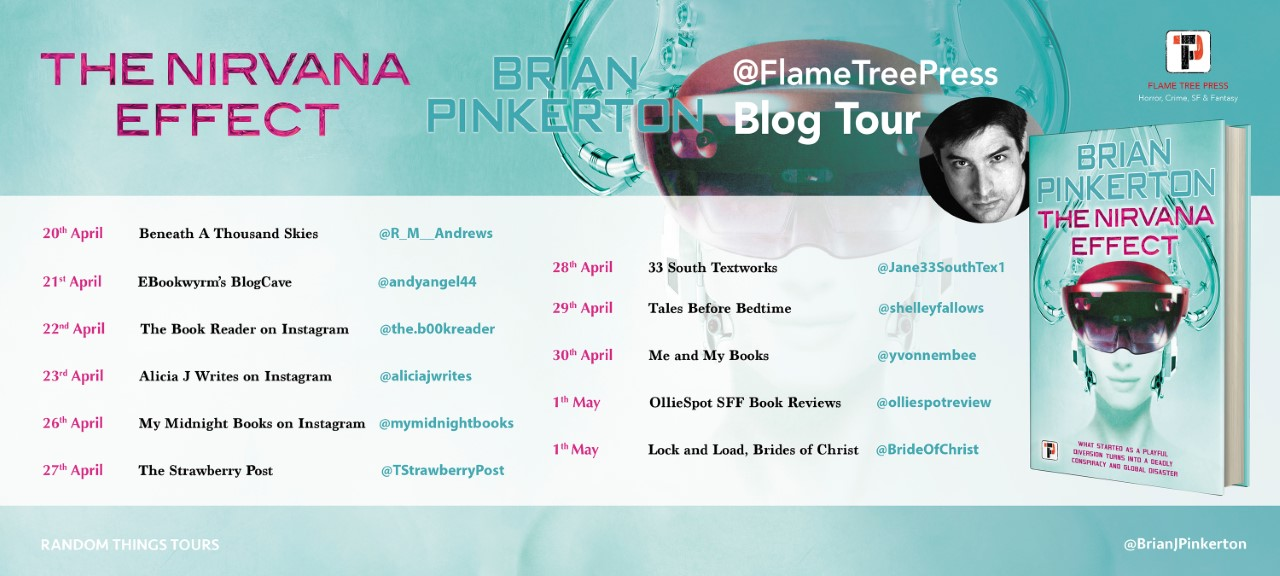 Blog Tour stops for The Nirvana Effect