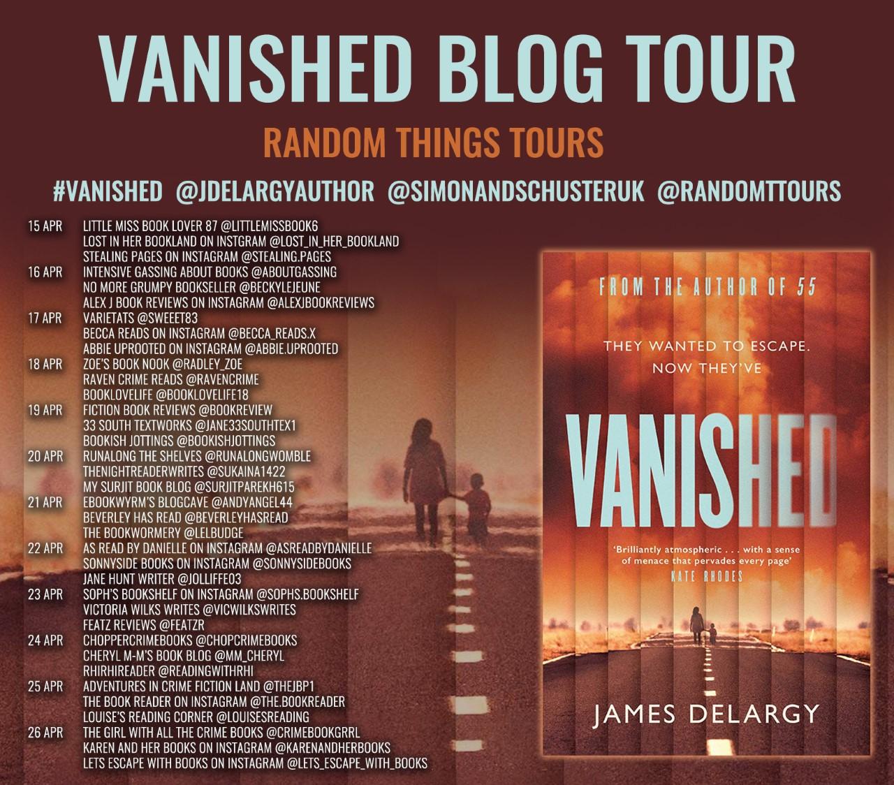 Vanished Blog Tour