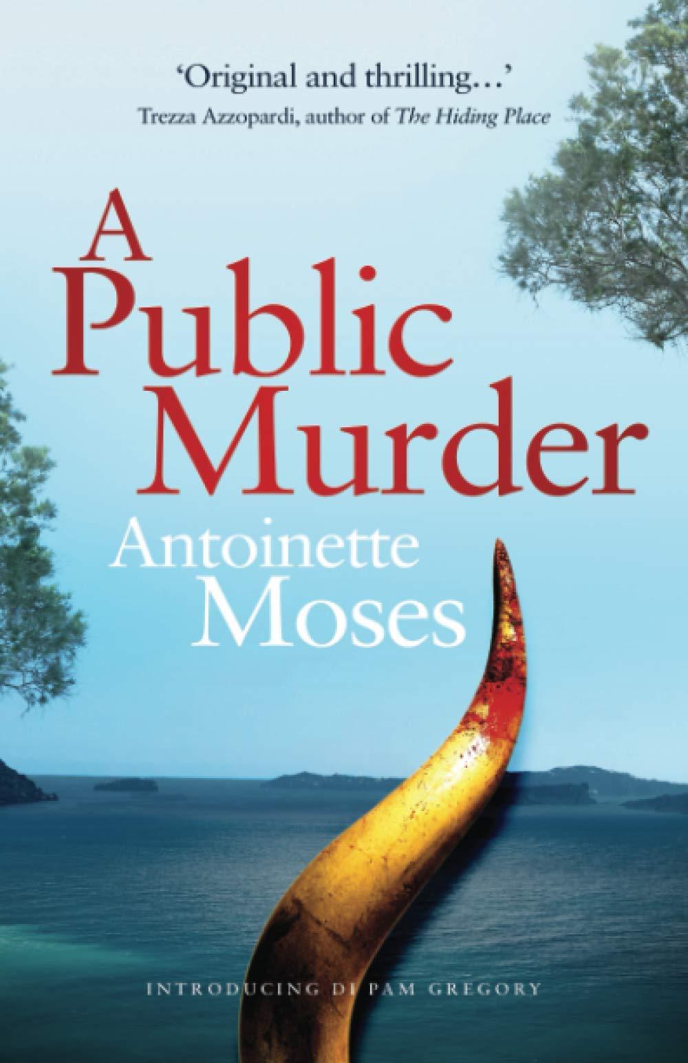 Cover Art for A Public Murder