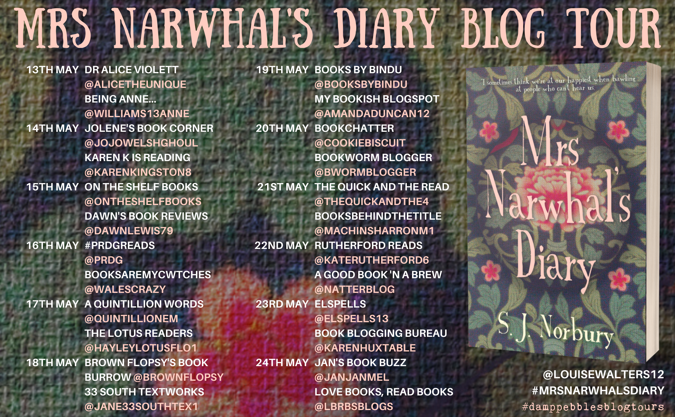 Blog Tour for Mrs Narwhal's Diary