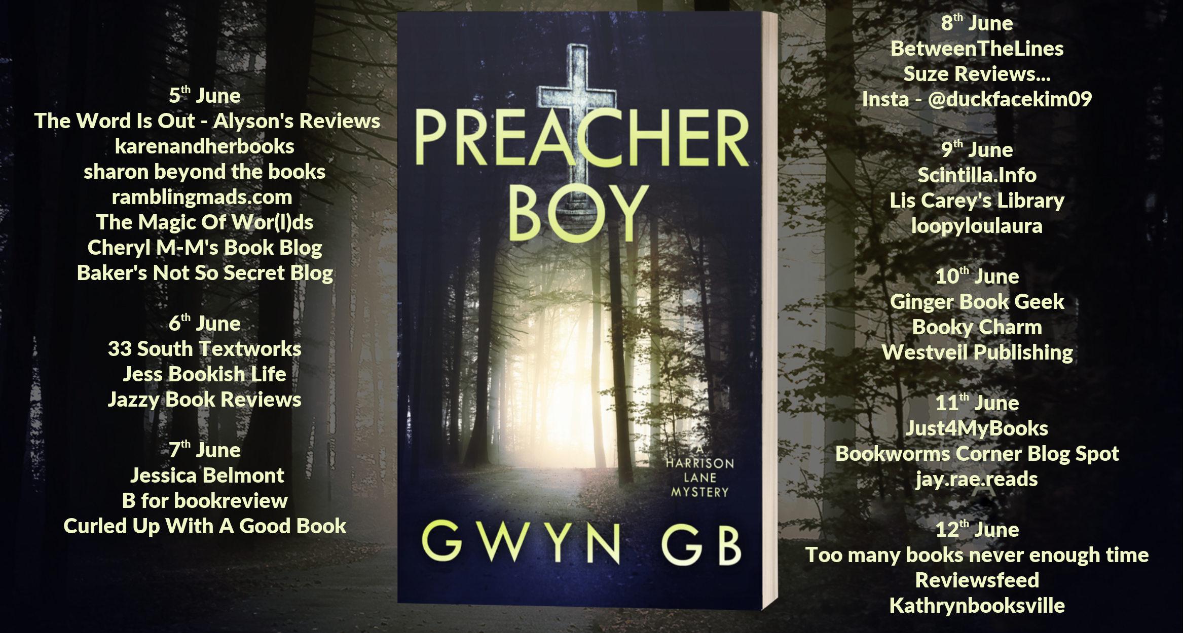 The Blog Tour stops for Preacher Boy