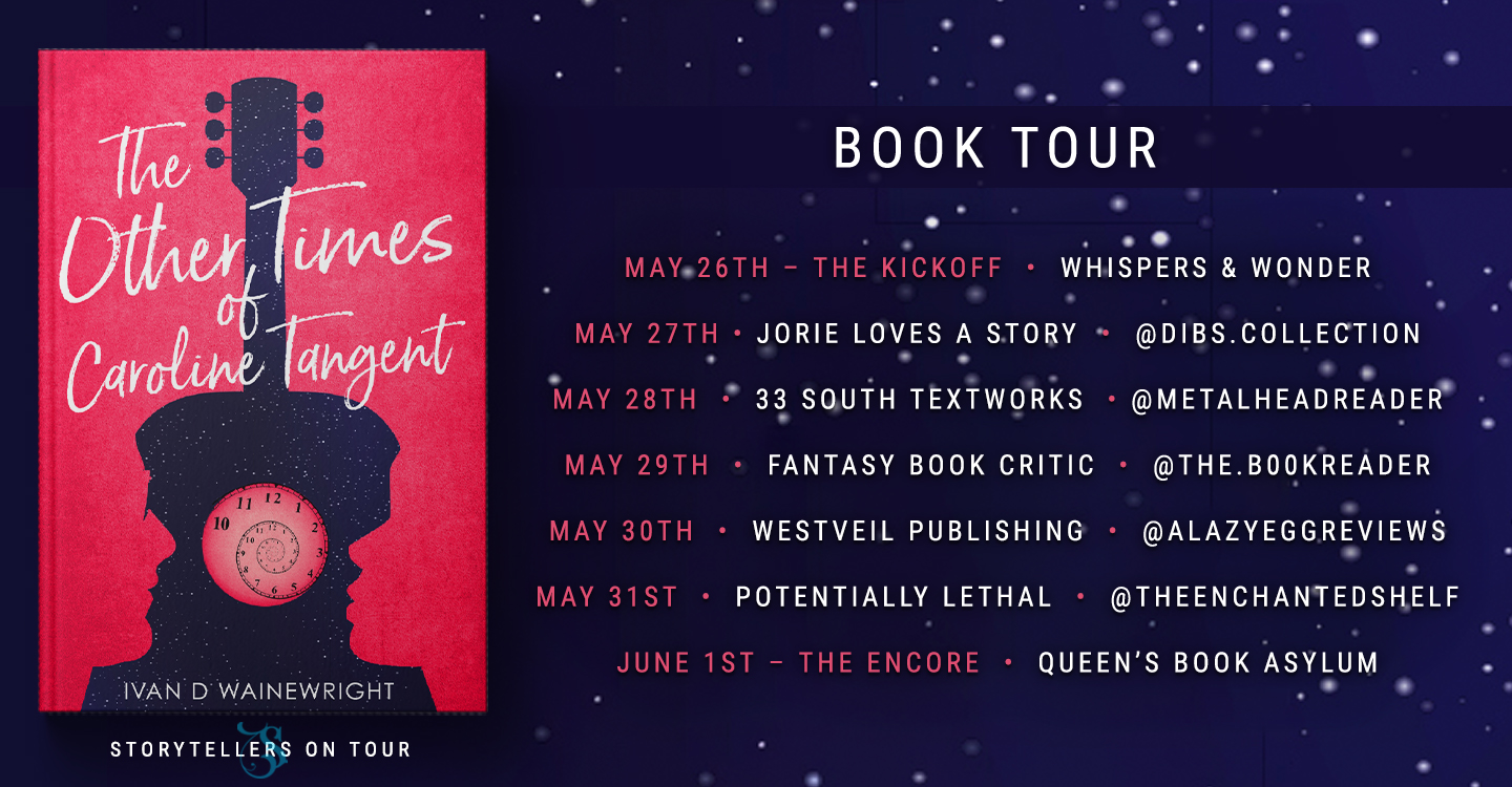Blog Tour stops for The Other Times of Caroline Tangent