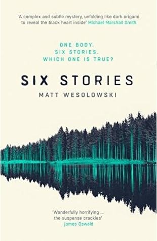 Cover Art for Six Stories