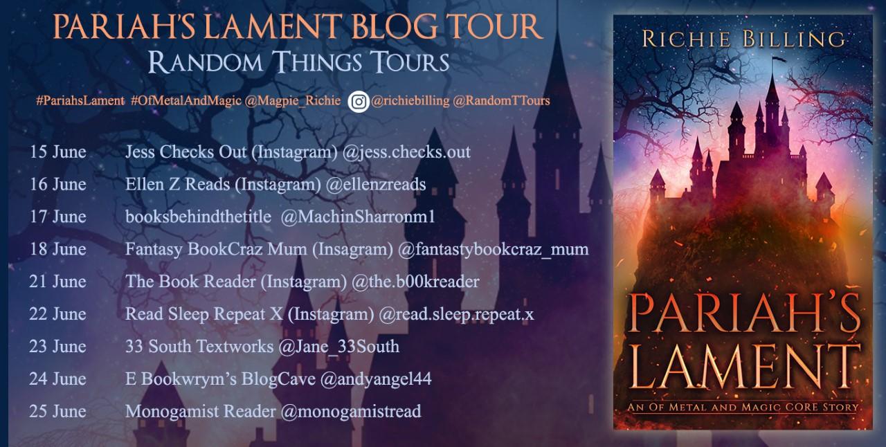 Pariah's Lament Blog Tour