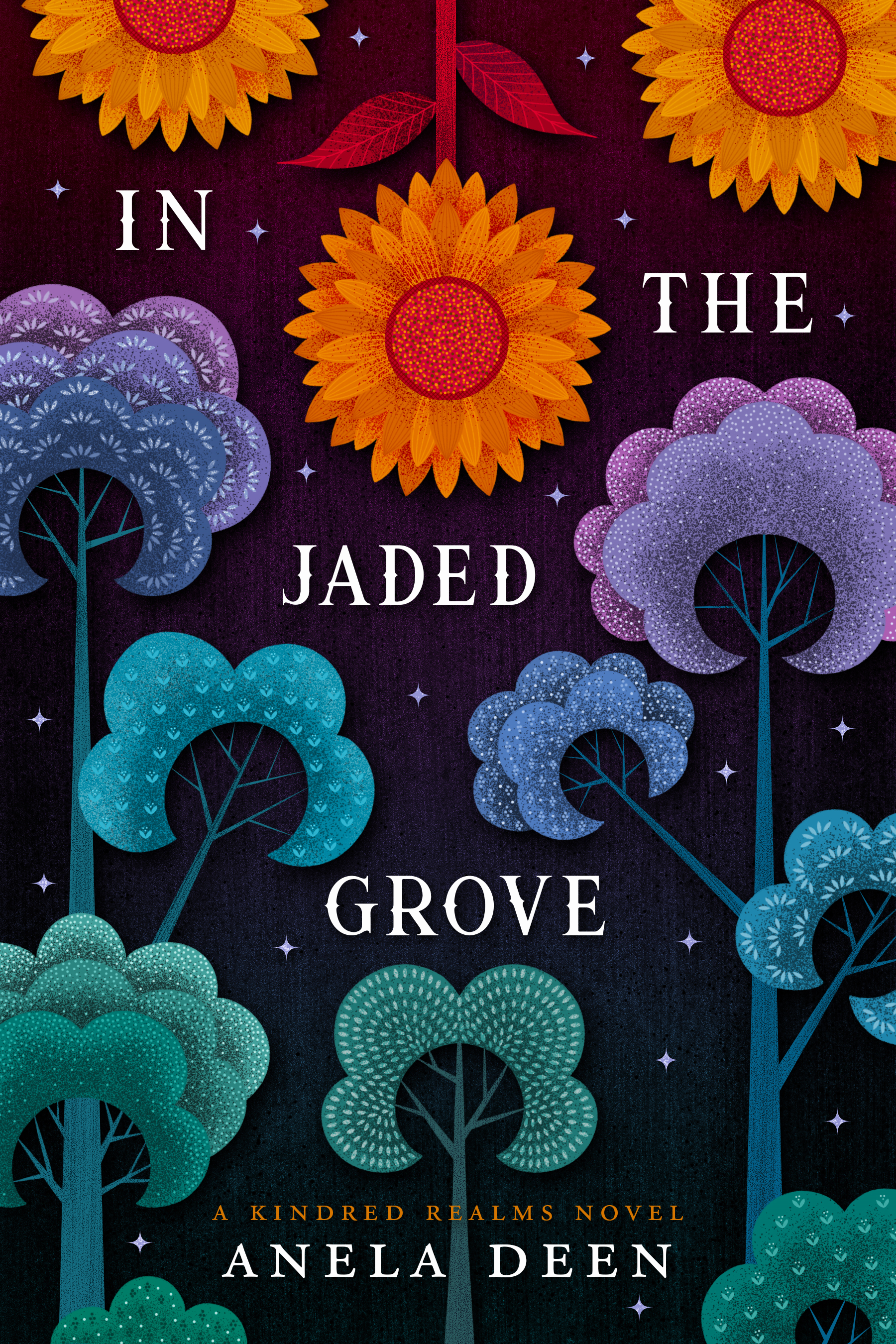 Cover Art for In the Jaded Grove