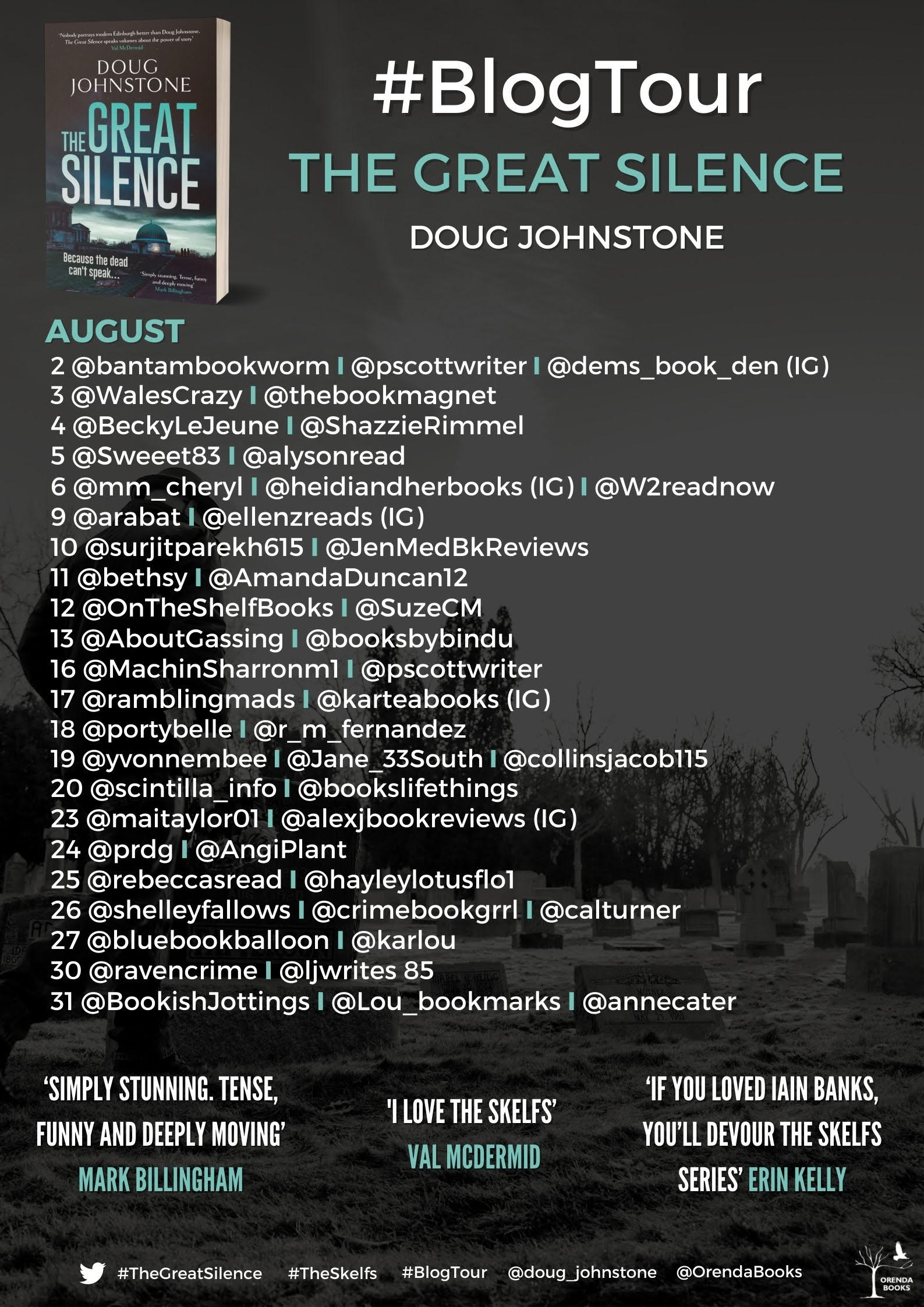 Blog Tour for The Great Silence