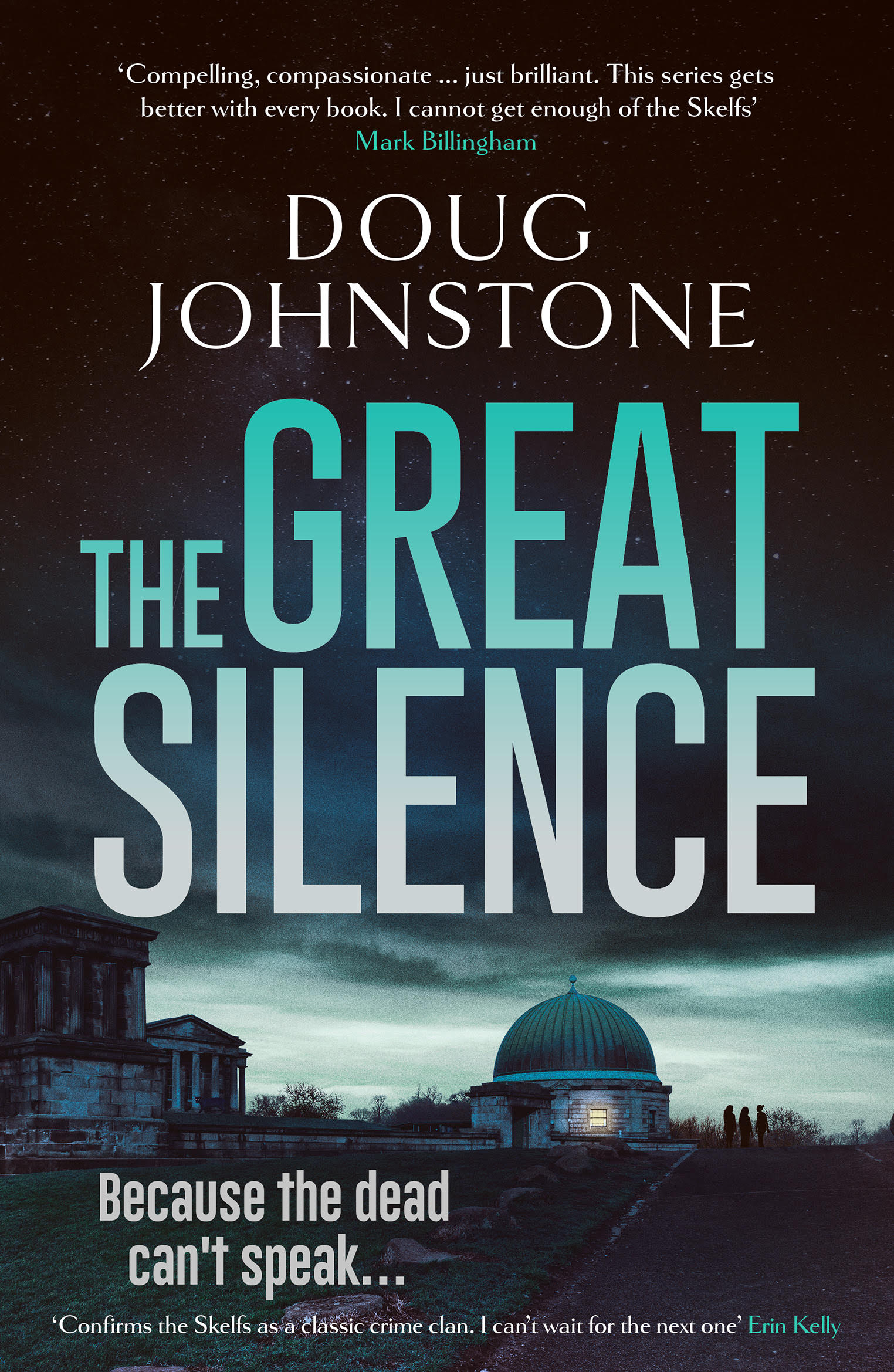 Cover Art for The Great Silence
