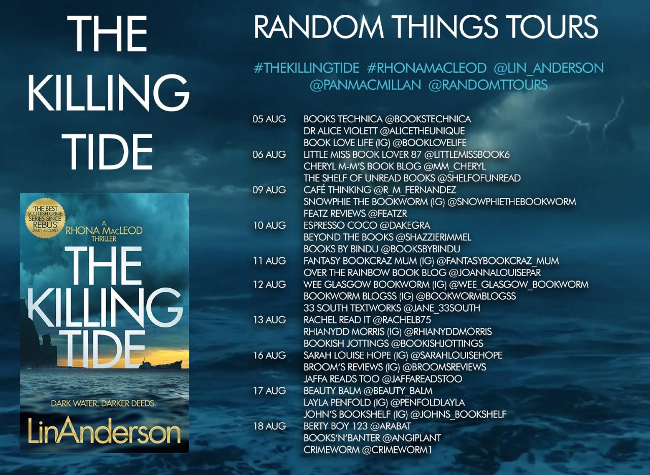 Blog Tour stops for The Killing Tide
