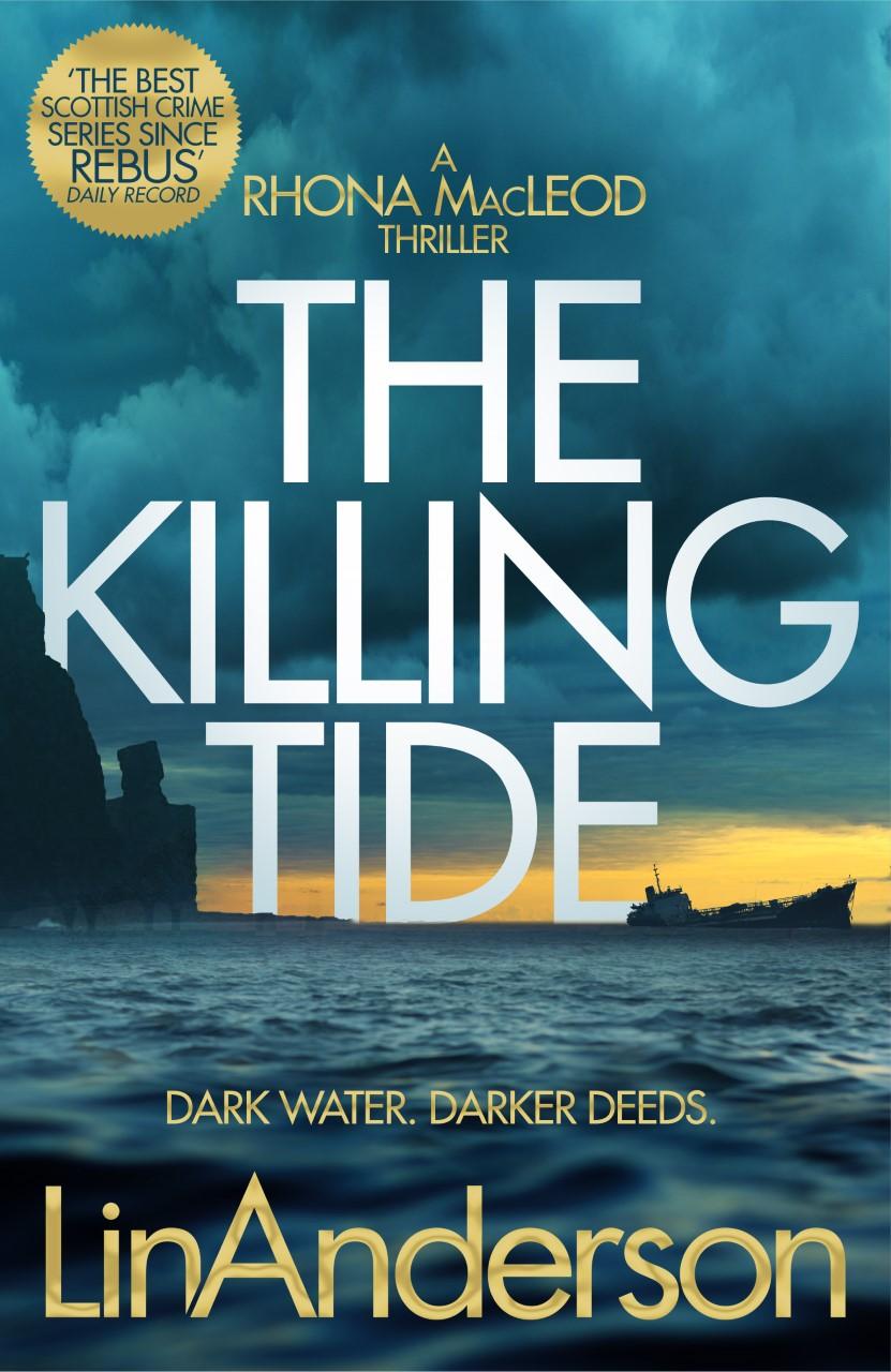 Cover Art for The Killing Tide