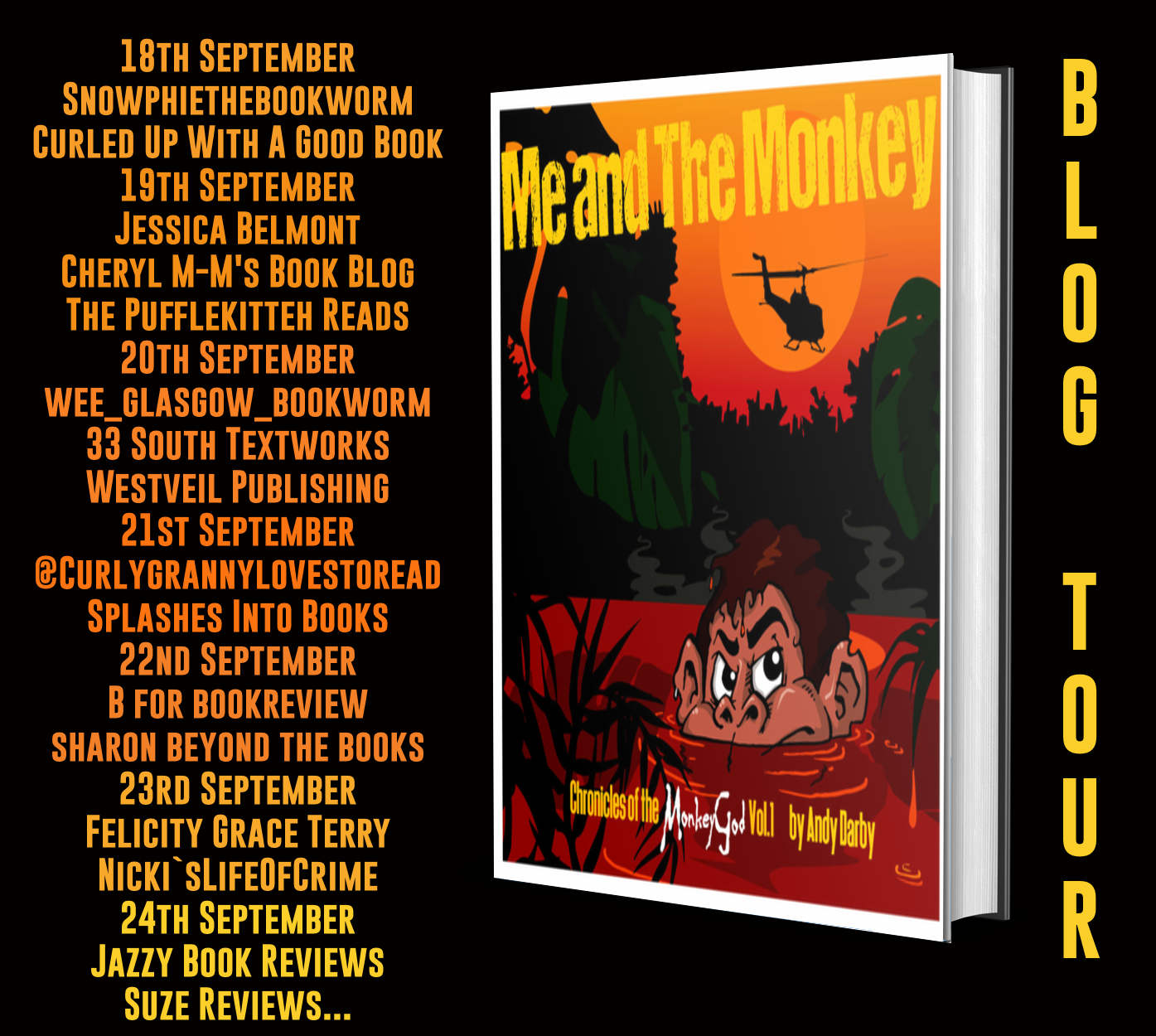 Blog Tour for Me and The Monkey