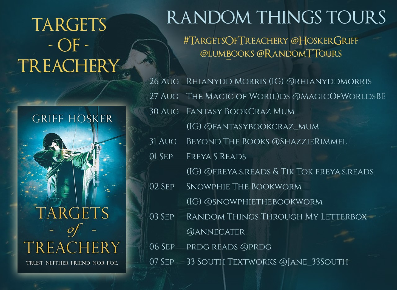 Blog Tour for Targets of Treachery