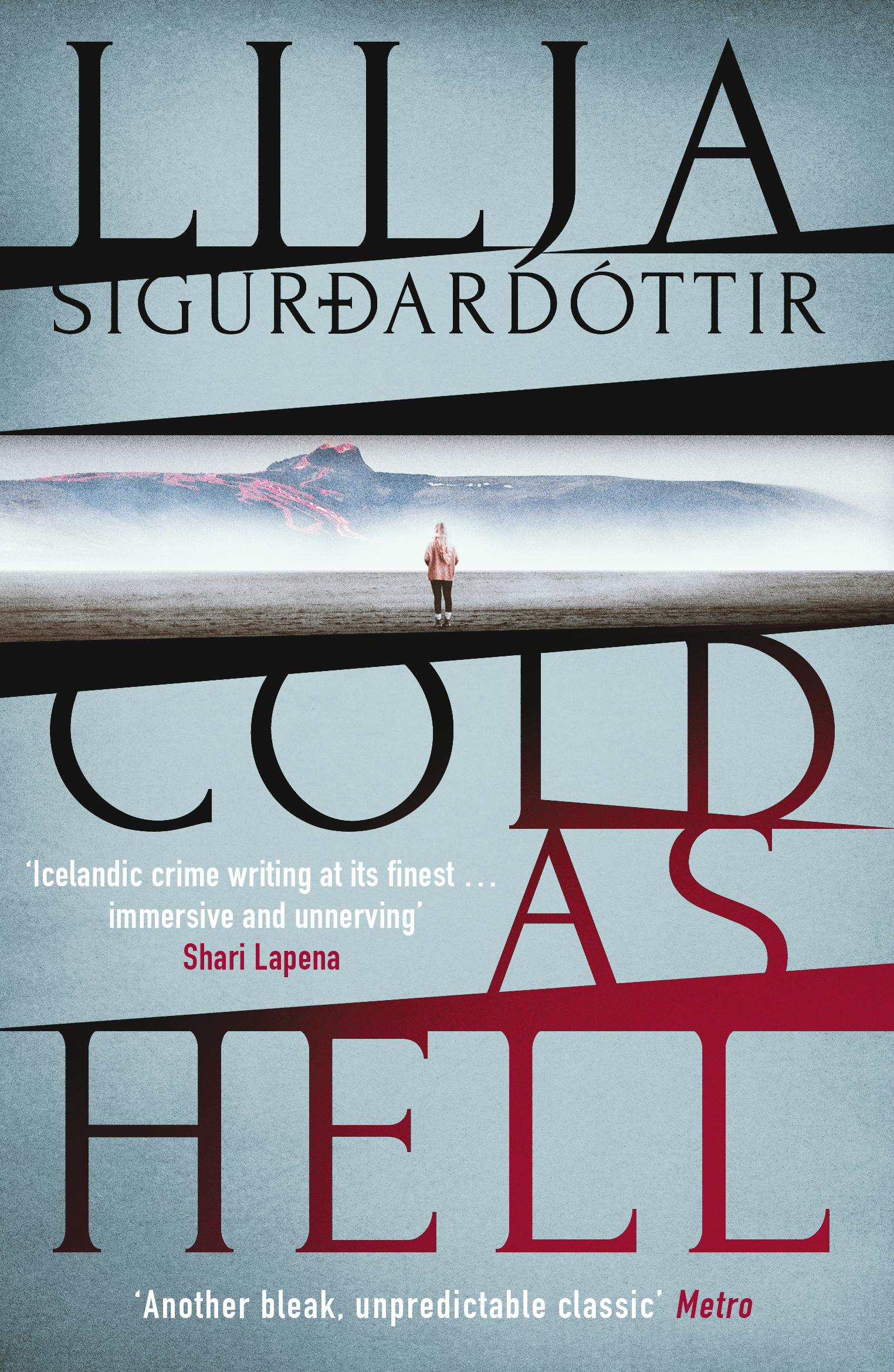 Cover art for Cold as Hell